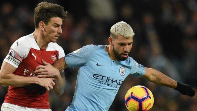 Sergio Aguero mampu tampil apik saat Manchester City berhasil menekuk Arsenal pada laga lanjutan Premier League dengan skor akhir 3 - 1 di Etihad Stadium